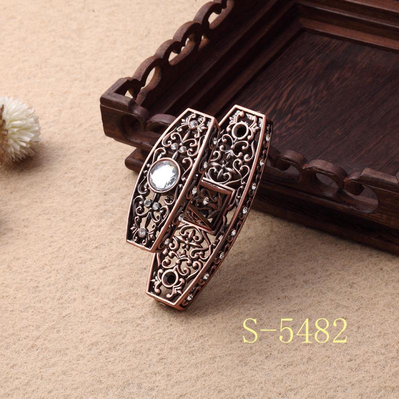 新款钻 旭升 锌合金 窗帘挂钩 墙钩 电镀 欧式窗帘壁钩S-5482