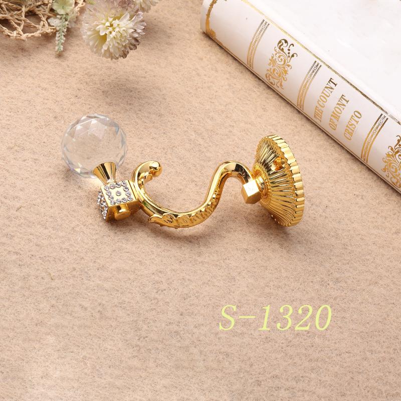 水晶窗帘挂钩S-1320